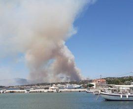 Φωτιά στην Εύβοια: Καίει δασική έκταση στους Ραπταίους (ΑΠΟΚΛΕΙΣΤΙΚΕΣ ΦΩΤΟΓΡΑΦΙΕΣ)
