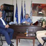 Συνάντηση Δημάρχου Κορδελιού Ευόσμου με τον ΓΓ του ΚΚΕ Δ. Κουτσούμπα