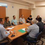 Συνάντηση Αντιπεριφερειάρχη Θ.  Βασιλόπουλου με  εκπροσώπους της Ένωσης «Ο ΝΗΡΕΑΣ» για  προστασία του θαλάσσιου οικοσυστήματος