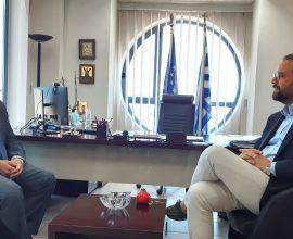 Συνάντηση Φαρμάκη-Υφυπουργού Τουρισμού: Στόχος η ισχυρή τουριστική ανάπτυξη της Δ. Ελλάδας