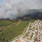 Μεγάλη πυρκαγιά στις Σάπες Ροδόπης- Εκκενώθηκε οικισμός 500 κατοίκων
