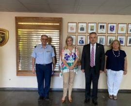 Επίσκεψη Δημάρχου Παπάγου – Χολαργού στο 251 Γενικό Νοσοκομείο Αεροπορίαςω