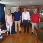 Συνάντηση του Δημάρχου Ζωγράφου Β. Θώδα με εκπροσώπους της ΔΟΕ – Τι συζήτησαν