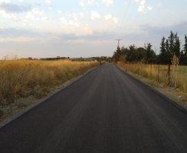 Δήμος Θέρμης: Δόθηκε ξανά σε κυκλοφορία ο παρακαμπτήριος δρόμος Τριλόφου – Πλαγιαρίου