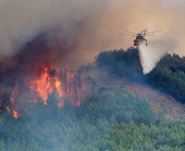 Φωτιά στον Δήμο Πύλου-Νέστορος, στη Μεσσηνία