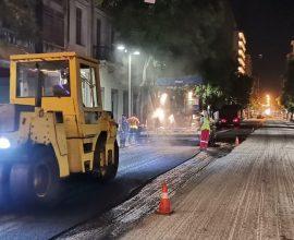 Ξεκίνησαν οι εργασίες αποκατάστασης του οδοστρώματος επί της οδού Πατησίων, από την Περιφέρεια Αττικής