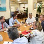 Συνάντηση του Γ. Πατούλη με τον Δήμαρχο Αθηναίων Κ. Μπακογιάννη για το Μεγάλο Περίπατο