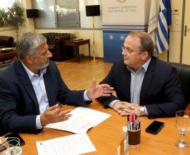 Πατούλης: «Σε συνεργασία με τους Δήμους, στοχεύουμε στην μέγιστη αξιοποίηση των ευρωπαϊκών κονδυλίων»