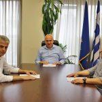 Περιφέρεια ΑΜΘ: Συνάντηση Μέτιου με το προεδρείο της ΠΕΔ ΑΜΘ για Νυμφαία και τουρισμό