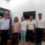 Τηλεδιάσκεψη για το Κέντρο Εθελοντισμού της Περιφέρειας Κρήτης