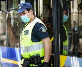 Βεβαίωση 35 παραβάσεων για μάσκες σε μέσα μεταφοράς σήμερα το πρωί