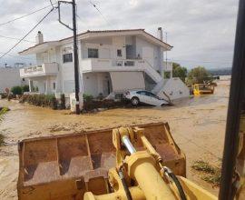 Εύβοια: Στις πληγείσες περιοχές ο Χαρδαλιάς – Σε ανοιχτή γραμμή ΥΠΕΣ, Περιφέρεια Στ. Ελλάδας και Δήμοι Χαλκιδέων, Διρφύων