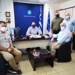 Σημαντικά έργα υποδομών απασχόλησαν την συνάντηση του Δημάρχου Μεσολογγίου με τον Περιφερειάρχη Ν. Φαρμάκη