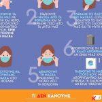 Δήμος Ελευσίνας: Χρήσιμες οδηγίες για τα μέτρα πρόληψης διασποράς του κορονοϊού