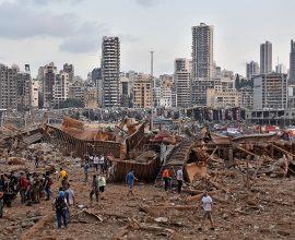 Εικόνες χάους μετά την ισχυρή έκρηξη στη Βηρυτό – Σοκαρισμένος ο πλανήτης (ΦΩΤΟΓΡΑΦΙΕΣ)