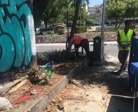 Συνεχίζεται και τον Αύγουστο η καθημερινή προσπάθεια για ένα καθαρό Δήμο Διονύσου