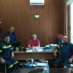 Δήμος Δ. Λέσβου: Συνάντηση του Αντιδημάρχου Ι. Ιορδάνου με τον Περιφερειακό Διοικητή της Πυροσβεστικής Β. Αιγαίου