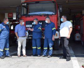 Δήμαρχος Τρίπολης: «Ικανοποιήσαμε ένα χρόνιο αίτημα της Πυροσβεστικής Υπηρεσίας»