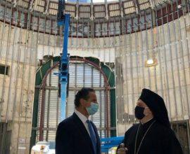 Αρχιεπίσκοπος Ελπιδοφόρος: «Ευγνώμων για την ανοικοδόμηση του Αγίου Νικολάου στο Σημείο Μηδέν»