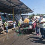 Δήμος Νεάπολης-Συκεών: Τα απορριμματοφόρα στο… πλυντήριο απολύμανσης!