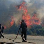 Φωτιά στο Αρκαλοχώρι Ηρακλείου