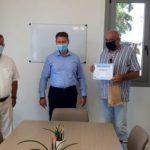 Δήμος Χερσονήσου: Η πρώτη για φέτος βράβευση επαναλαμβανόμενου επισκέπτη στο δημαρχείο