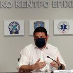 Χαρδαλιάς: «Πήραμε νέα μέτρα για να ανακοπεί η αυξητική τάση της επιδημίας»