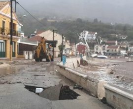 Επιχορηγήσεις, ύψους 37 εκατ. ευρώ, από Θεοδωρικάκο σε Δήμους και Περιφέρειες που επλήγησαν από τον «Ιανό»