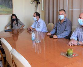 Με τον Δήμαρχο Καρδίτσας συναντήθηκε η υφυπουργός Εργασίας Δ. Μιχαηλίδου