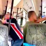 «Θεριακλής μασκοφόρος» ξυλοκόπησε νεαρό σε λεωφορείο του ΟΑΣΑ (ΒΊΝΤΕΟ)