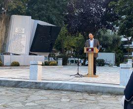 Εκδήλωση μνήμης για τους ήρωες-θύματα της 13ης Αυγούστου 1944  χθες στην  Καλαμαριά
