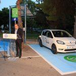 Το πρώτο σύστημα κοινοχρήστων ηλεκτρικών αυτοκινήτων της χώρας παρουσίασε ο Δήμος Βάρης Βούλας Βουλιαγμένης