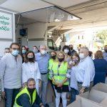 Αμπατζόγλου: «Το Μαρούσι με κάθε ευκαιρία δίνει το παράδειγμα του εθελοντισμού, της προσφοράς και της αλληλεγγύης στο συνάνθρωπο»