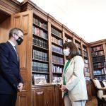 Συνάντηση του Δημάρχου Θεσσαλονίκης με την Πρόεδρο της Δημοκρατίας Κ. Σακελλαροπούλου