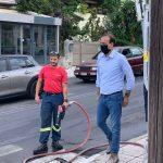 Προετοιμασία του Δήμου Γλυφάδας για τον κυκλώνα ΙΑΝΟ