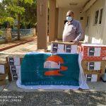 Δήμος Αγίας Βαρβάρας: Παράδοση των ειδών της ανθρωπιστικής βοήθειας για τον Λίβανο