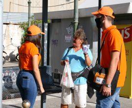 Ομάδες ενημέρωσης του Δήμου Πειραιά για την προστασία κατά του κορονοϊού