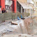 Αυτοψία της Δημάρχου Νέας Ιωνίας στα αντιπλημμυρικά έργα της πόλης