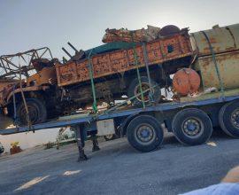 Απομάκρυνση εγκαταλελειμμένων οχημάτων στον Δήμο Ιητών