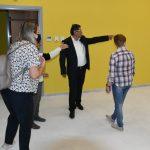 Ο Δήμαρχος Πατρέων στον υπό διαμόρφωση νέο παιδικό σταθμό στην Μανιακίου