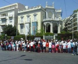Σε εξέλιξη η συγκέντρωση στήριξης της Αρμενίας στην Αθήνα (εικόνες)