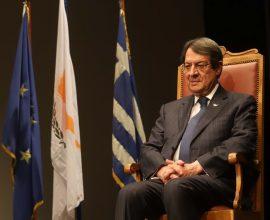 Αναστασιάδης: «Δεν είναι αυτοσκοπός οι κυρώσεις εναντίον της Τουρκίας»