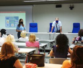 Εκπαιδευτικό σεμινάριο 50 σχολικών τροχονόμων πρωτοβάθμιας εκπαίδευσης Δήμου Παύλου Μελά από τη Διεύθυνση Τροχαίας Θεσσαλονίκης