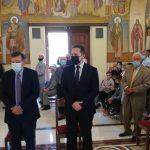 Ο Δήμαρχος Διονύσου στα εγκαίνια του Ιερού Μητροπολιτικού Ναού Κοιμήσεως Θεοτόκου Αγίου Στεφάνου