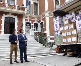 ΠΚΜ: Δυο τόνους ειδών πρώτης ανάγκης και τροφίμων για τους πλημμυροπαθείς της Καρδίτσας