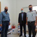 ΠΔΕ: Παραδόθηκαν μέσα ατομικής προστασίας στο Αστυνομικό Τμήμα Κάτω Αχαΐας