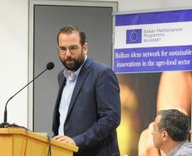 Οι στόχοι της ανάδειξης του αγροτοδιατροφικού πλούτου της Δ. Ελλάδας καταδείχθηκαν στο έργο BALKANET