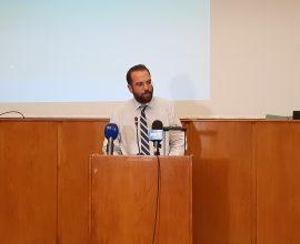 Φαρμάκης: «Στόχος κάθε χρόνο να εντάσσονται και να ολοκληρώνονται ώριμα έργα»