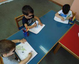 Δράση ζωγραφικής στους παιδικούς σταθμούς Ασπρόπυργου για την «Ημέρα Χωρίς Αυτοκίνητο»
