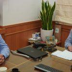 Συνάντηση Περιφερειάρχη Κρήτης με Δήμαρχο Ανωγείων